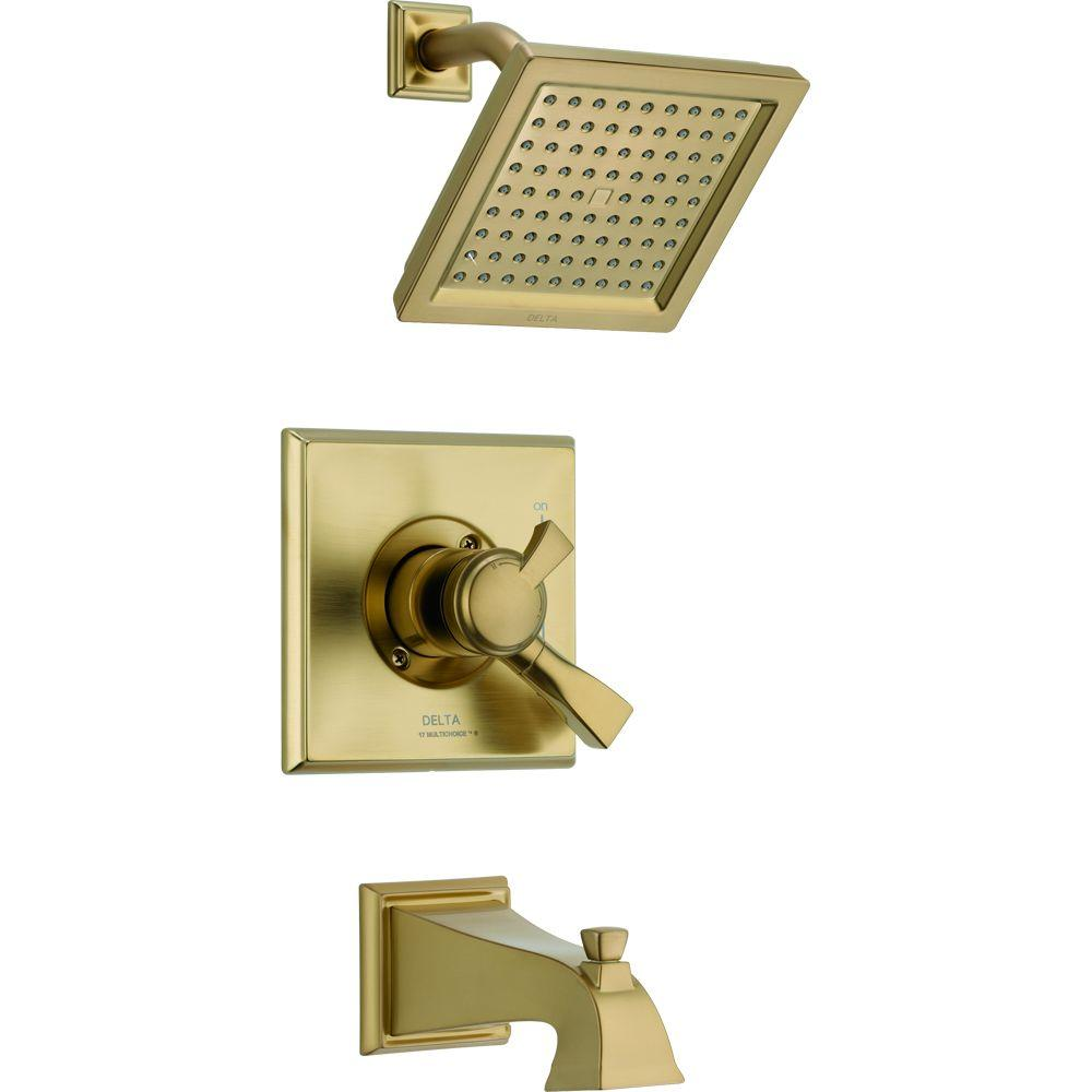 American Standard Edgemere 2.5 GPM 1-Handle Tub and Shower Faucet ...