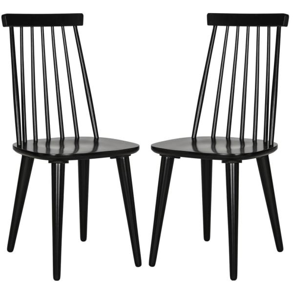 Burris Black Dining Chair (Set of 2)