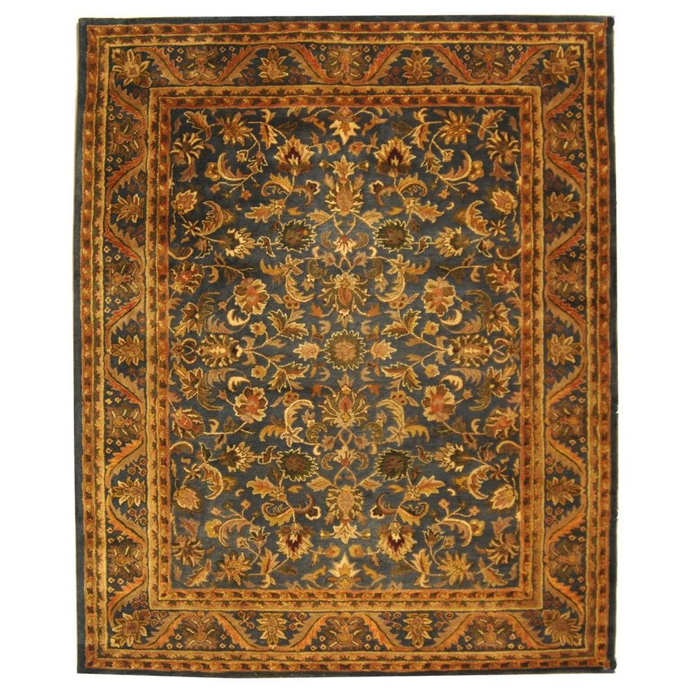 Antiquity Blue/Gold 8 ft. 3 in. x 11 ft. Area Rug