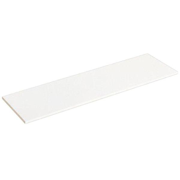 Unbranded White Melamine Wood Shelf 24 In D X 48 In L 1002252297 The Home Depot