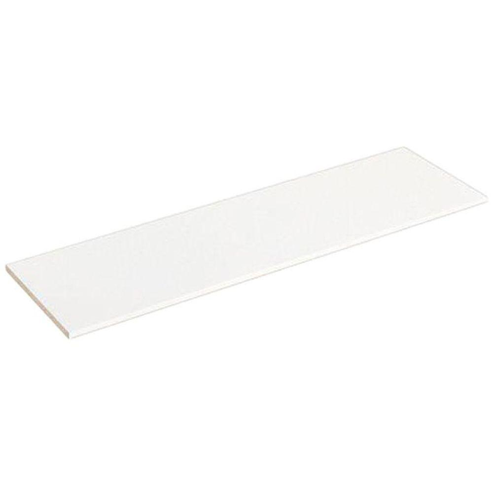 ClosetMaid Selectives 48 In. White Laminate Shelf 7034   The Home Depot