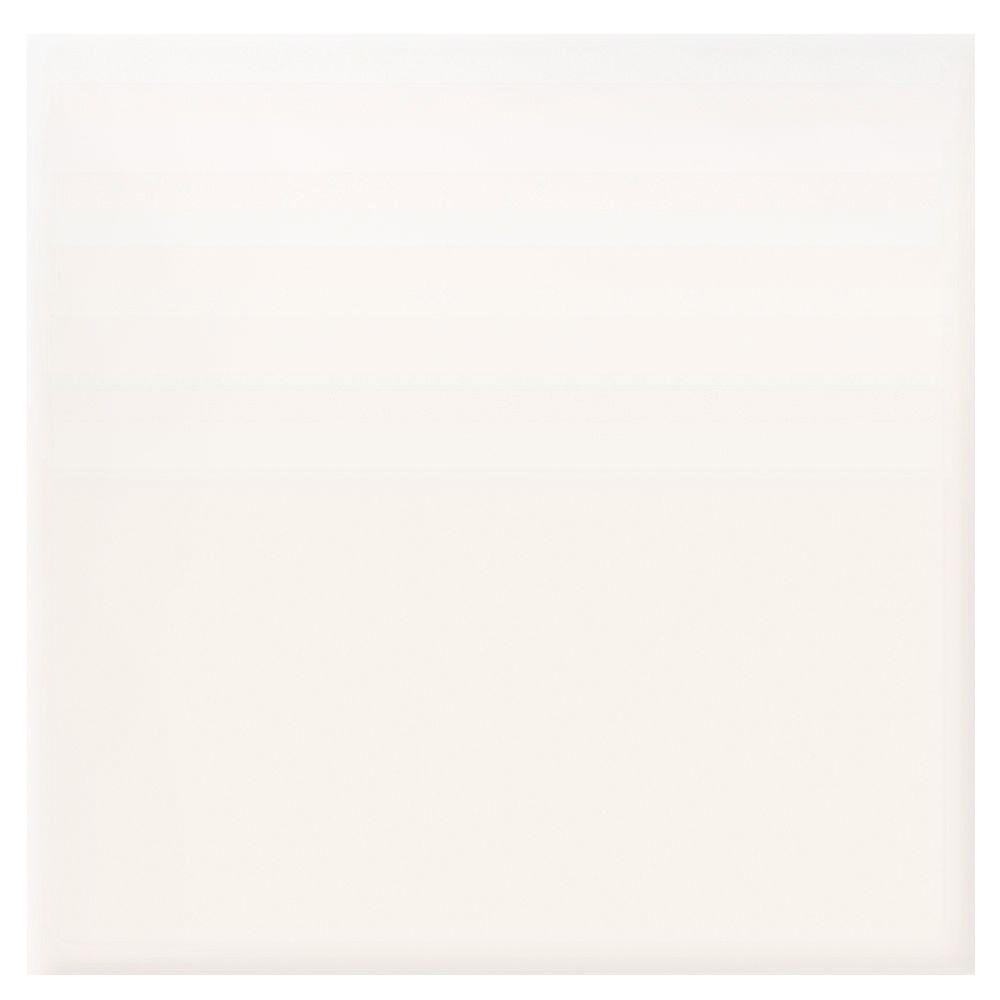Daltile Semi-Gloss Arctice White 4-1/4 in. x 4-1/4 in. Ceramic Bullnose Wall Tile