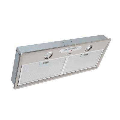 28 in. Power Pack Insert for External Blower Range Hood Shell with Light in Stainless Steel