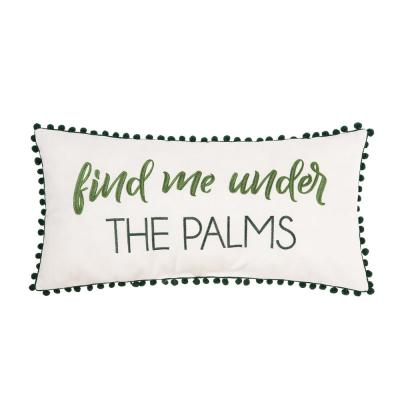 12 in. x 24 in. Under The Palms Pillow