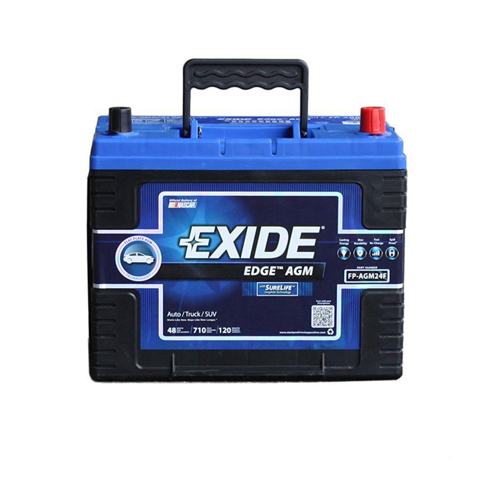 24F Auto AGM Battery