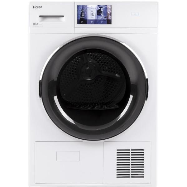 4.1 cu. ft. Smart 240 Volt White Stackable Electric Ventless Dryer, ENERGY STAR