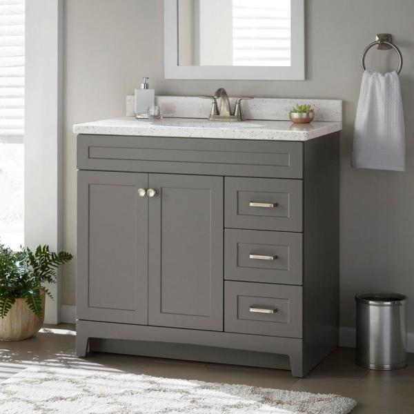 Home Decorators Collection Thornbriar 36 in. W x 21 in. D Bathroom