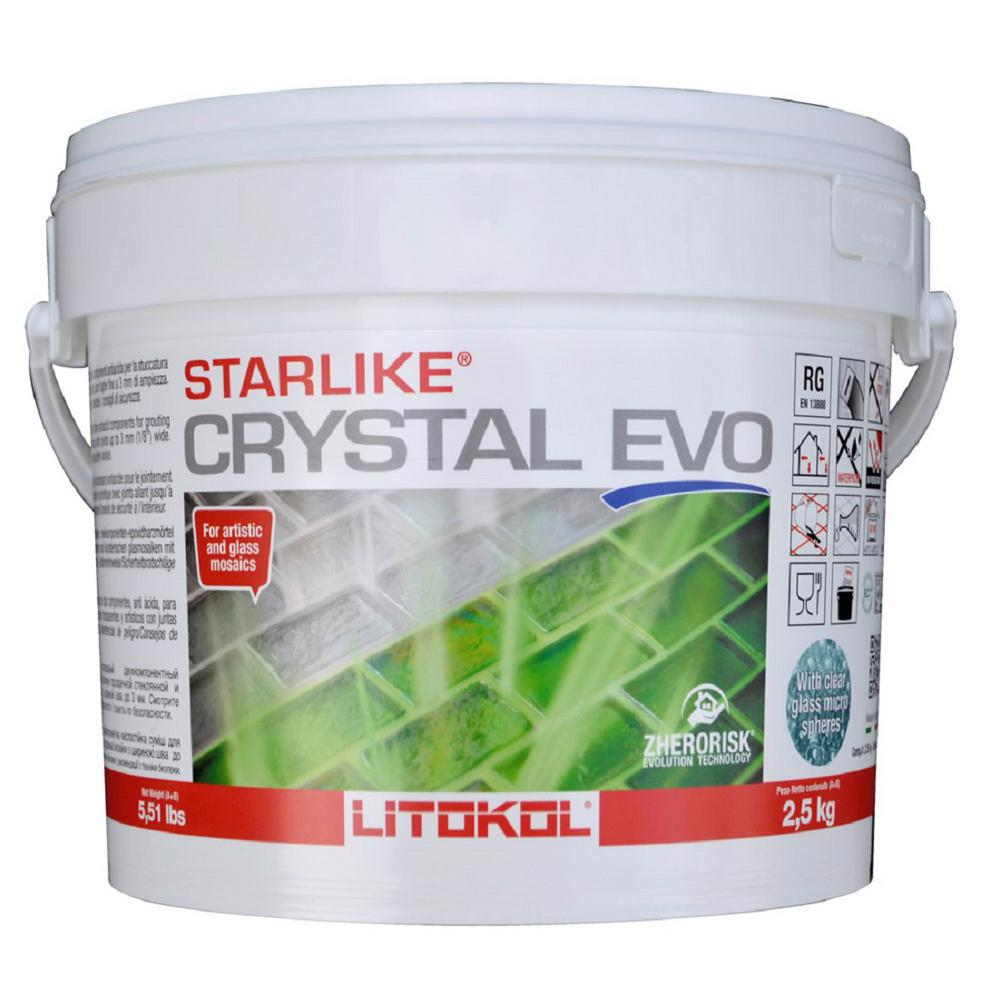 The Tile Doctor Starlike EVO 700 5.5 lbs. Crystal Grout