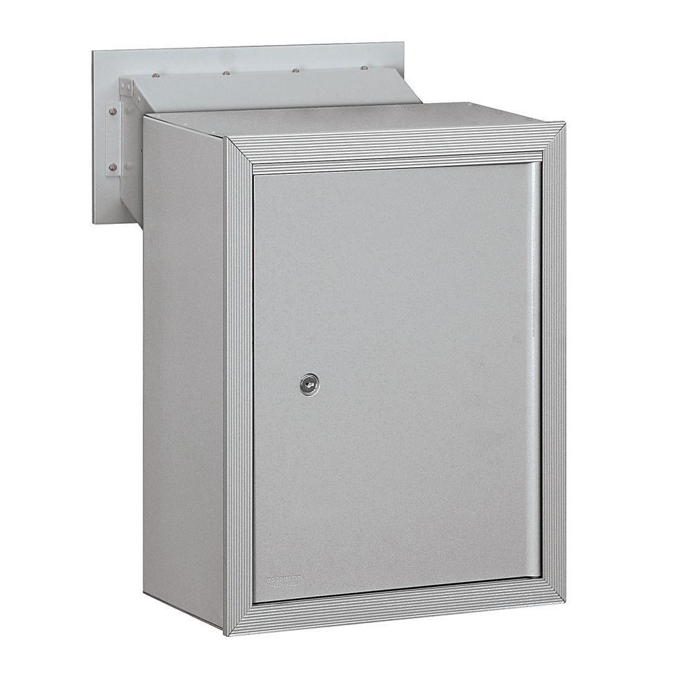 Salsbury Industries 2256 Series Aluminum Receptacle Option