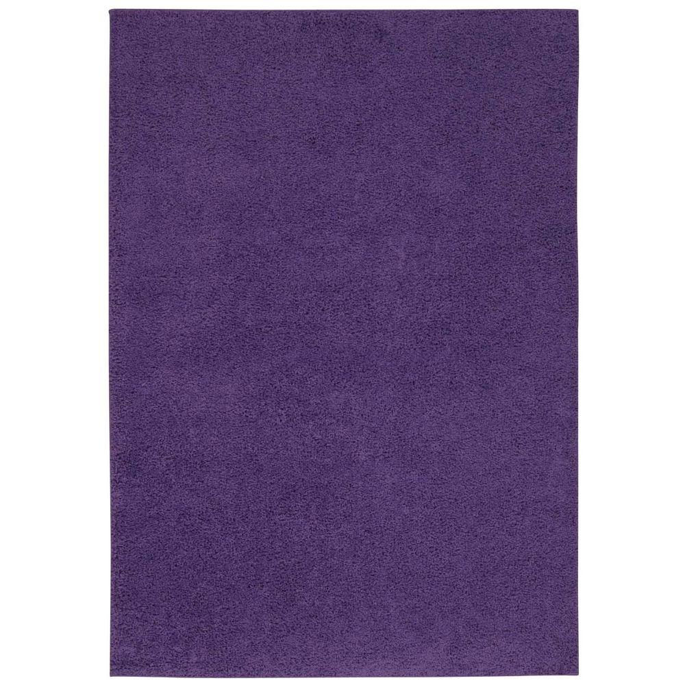 Nourison Bonita Light Violet 8 Ft 2 In X 10 Ft Area Rug
