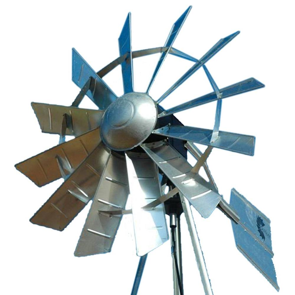 Outdoor Water Solutions 72 in. Ornamental Windmill Head