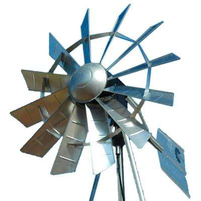 73 in. Functional Aerating Windmill Head