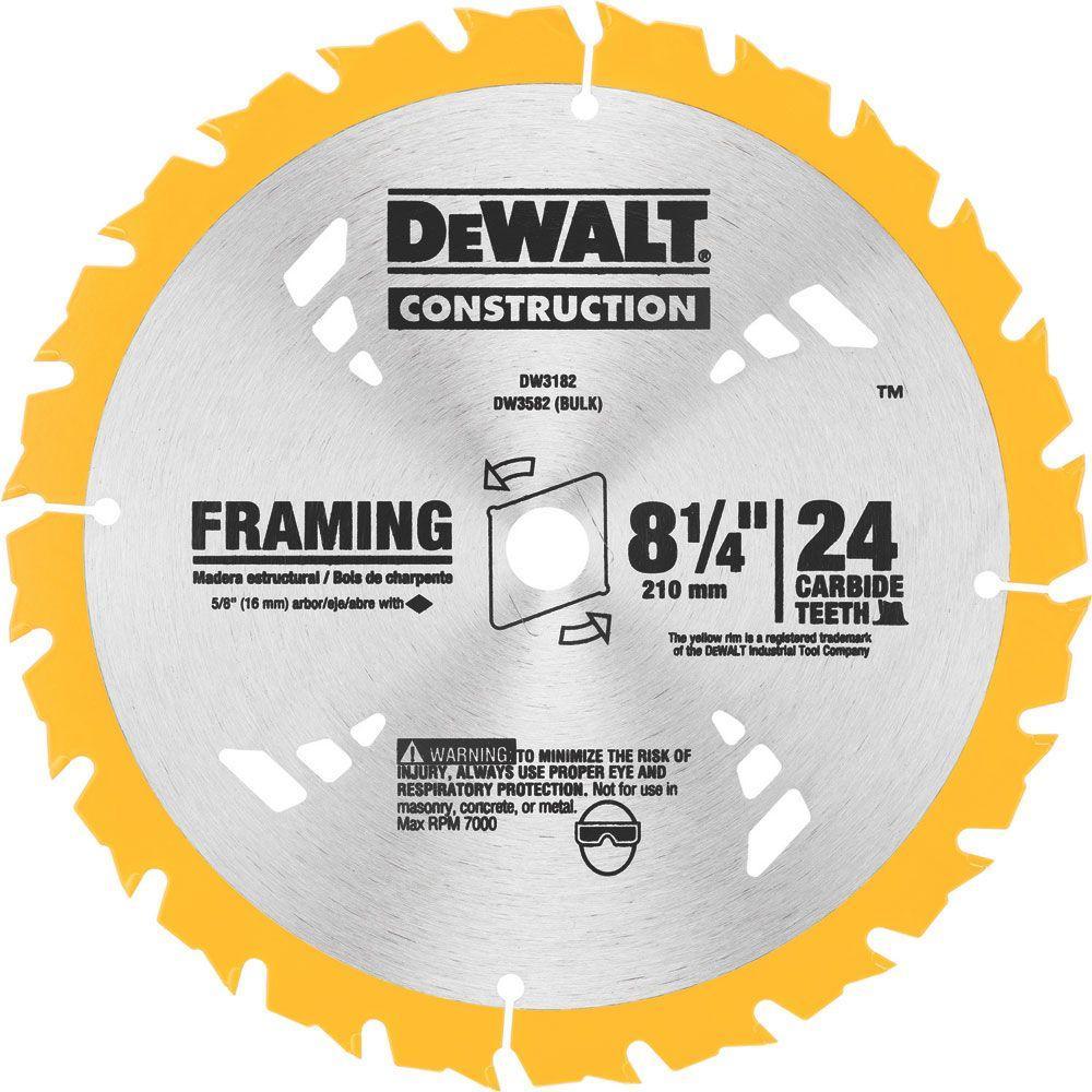 Dewalt 4 in ceramic tile circular saw blade dw4729 the home depot 24t carbide framing circular saw blade keyboard keysfo Gallery