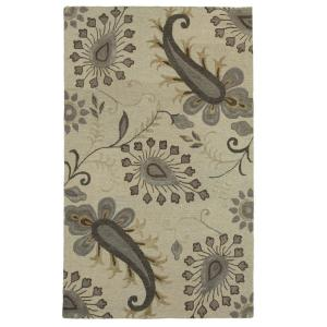 LR Resources Glamour Light Gray 9 ft. x 12 ft. Indoor Area Rug by LR Resources