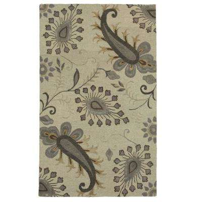 Glamour Light Gray 9 ft. x 12 ft. Indoor Area Rug