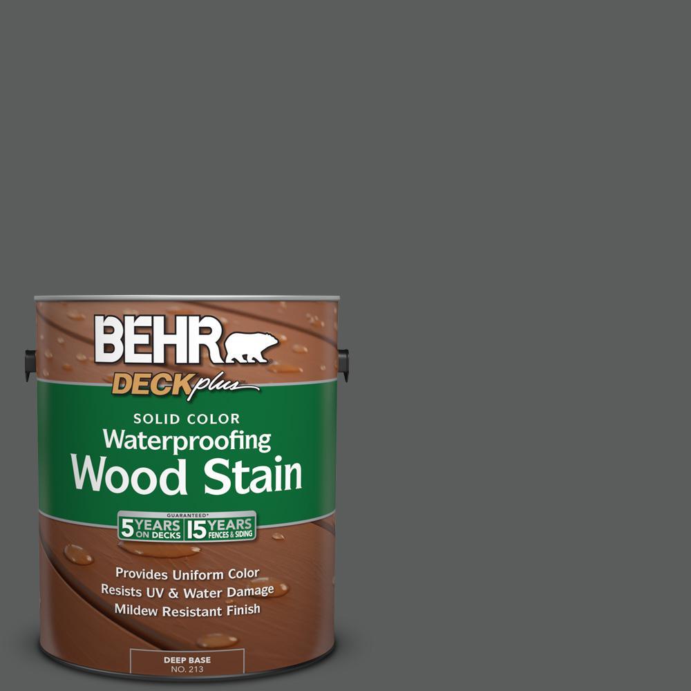 N520 6 Asphalt Gray Solid Color Waterproofing Exterior Wood