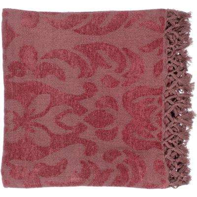 Bailey Cherry Cellulose Throw