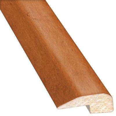 Maple Gilded/Sunset American 0.88 in. Thick x 2 in. Wide x 78 in. Length Hardwood Carpet Reducer/Baby T-Molding