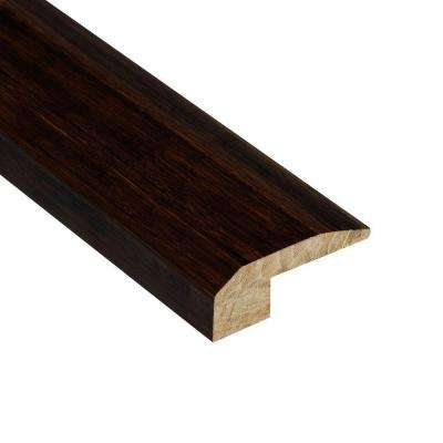 Strand Woven Walnut 9/16 in. Thick x 2-1/8 in. Wide x 47 in. Length Bamboo Carpet Reducer Molding