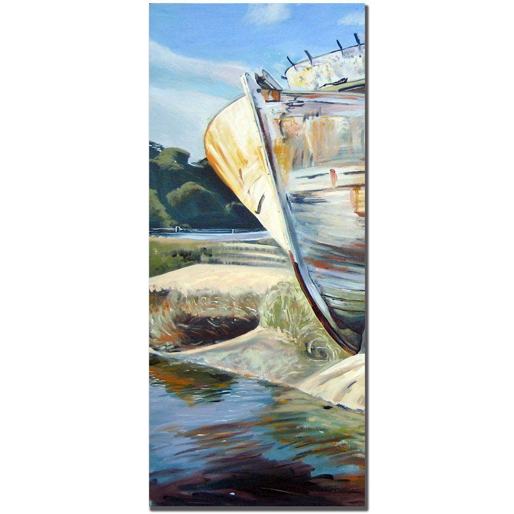 null 8 in. x 24 in. Inverness Boat Canvas Art - Part A