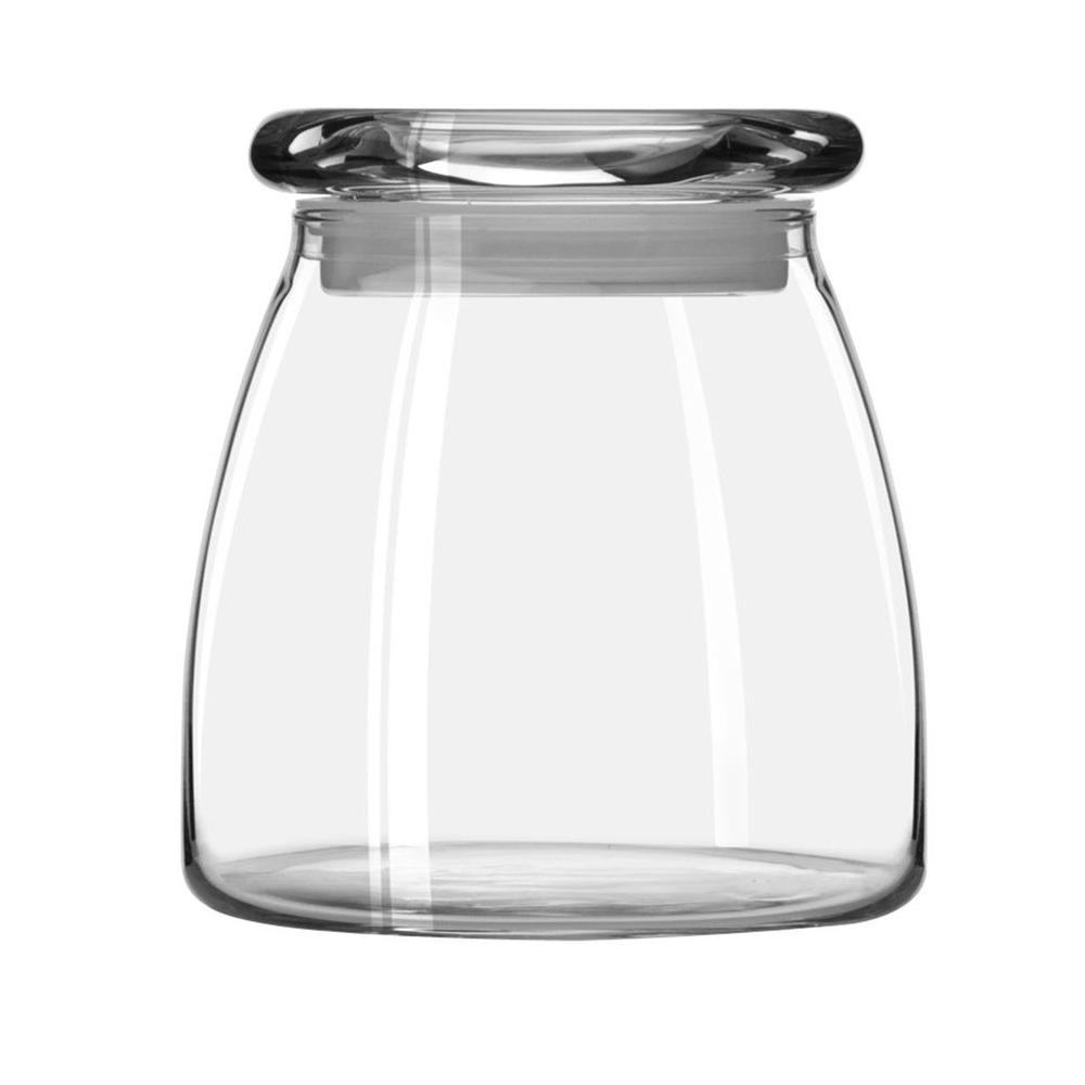 Libbey Vibe 27 oz. Storage Jar with Lid in Clear (Set of 6)
