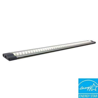 SNAP PRO Series 5-Watt 19.5 in. LED Under Cabinet Linkable Light with 18-Watt Hard Wire Power Supply