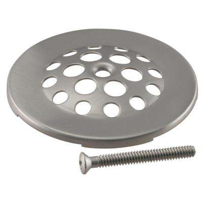 2-7/8 in. Dia Gerber-Style Bee-Hive Tub Strainer Grid in Satin Nickel