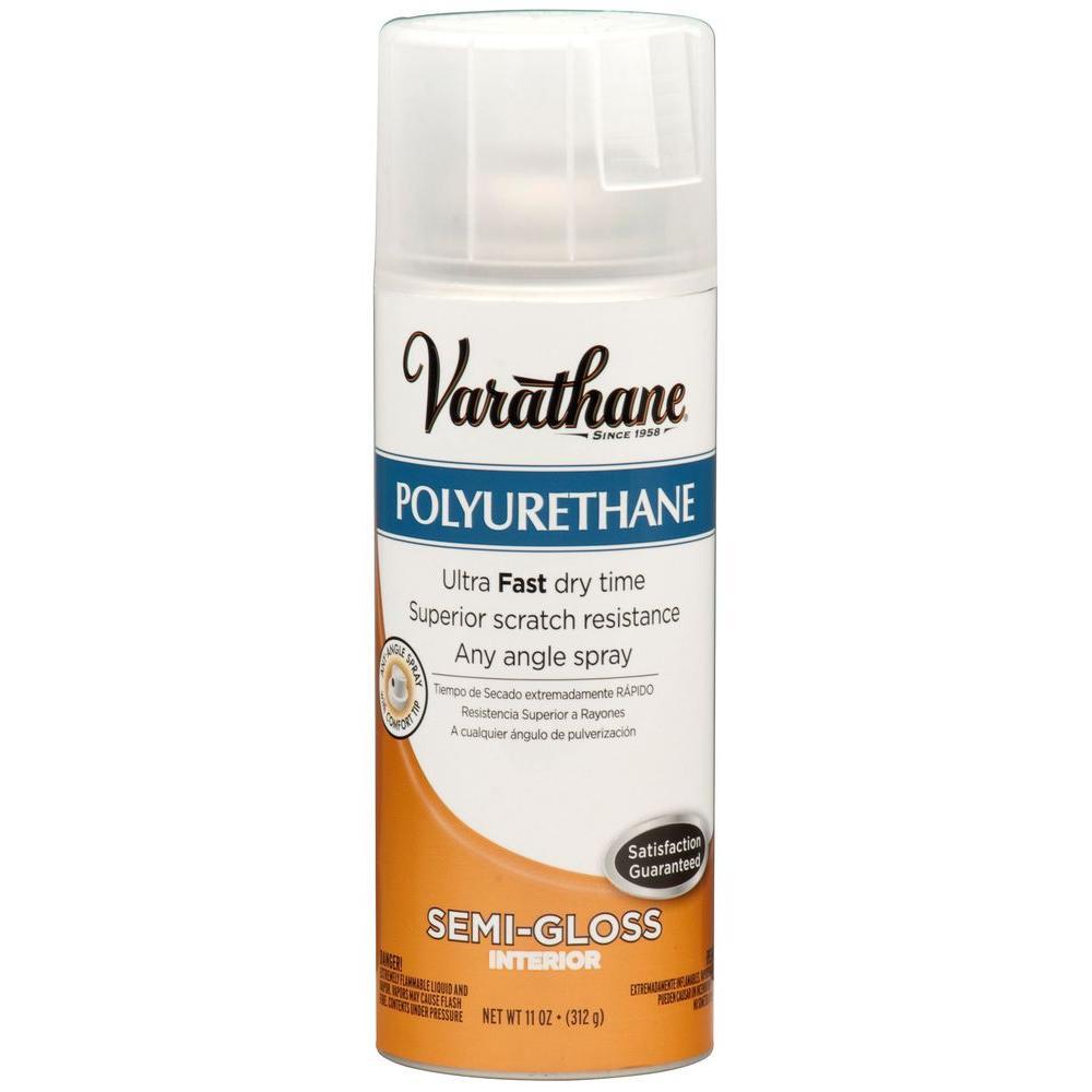 Varathane 11 Oz Poly Semi Gloss Spray Paint 6 Pack