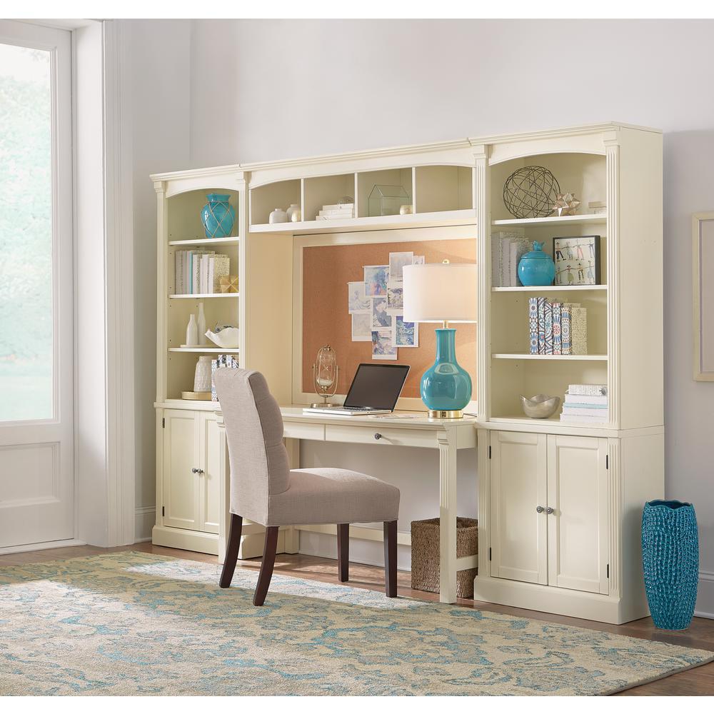 2 home decorators collection edinburgh 7 piece ivory modular office suite