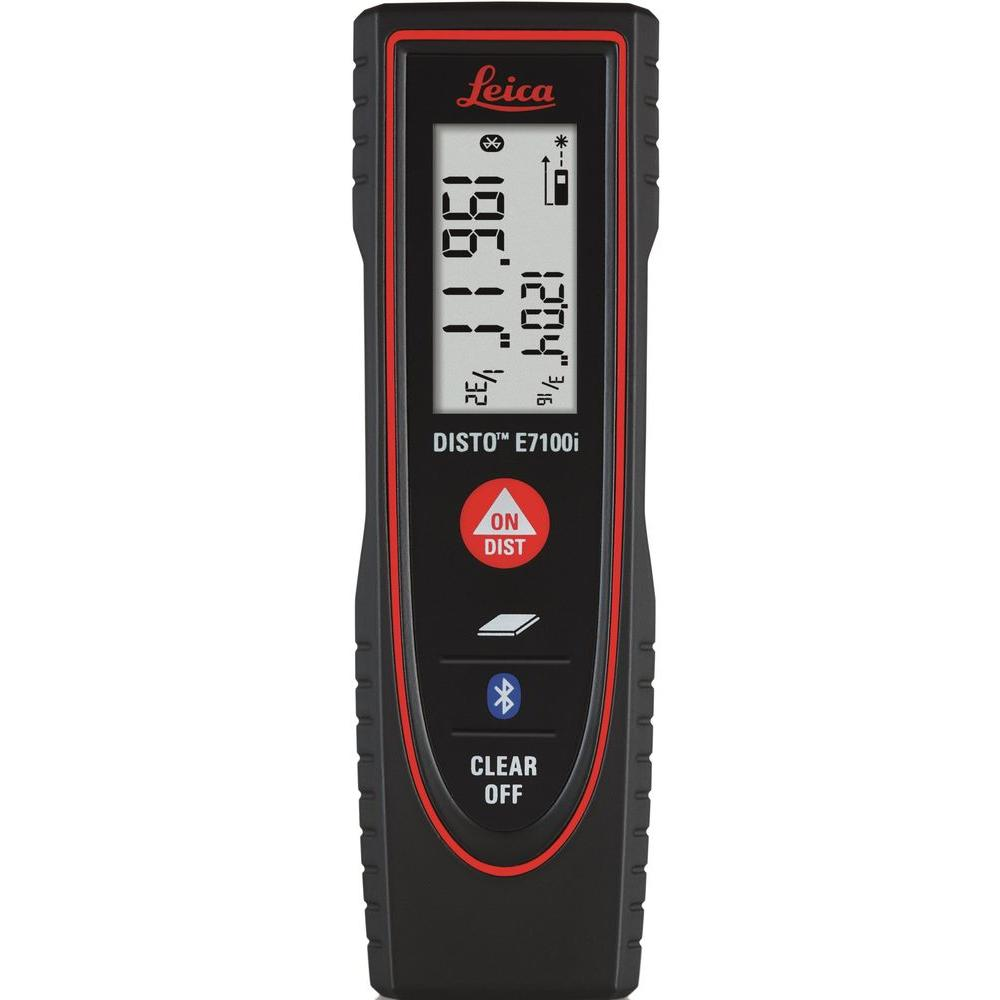 leica disto e7100i 200 ft laser distance meter with 4 0 bluetooth smart 812806 the home depot. Black Bedroom Furniture Sets. Home Design Ideas