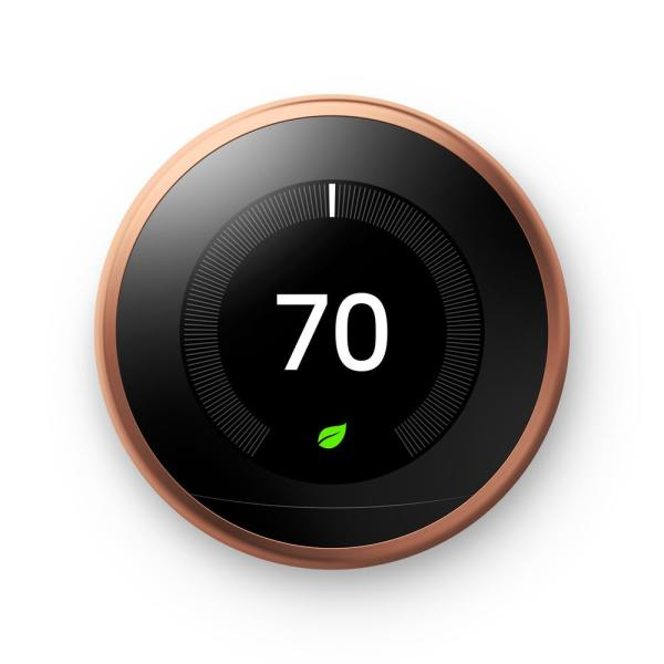 Nest Learning Thermostat 3rd Gen in Copper