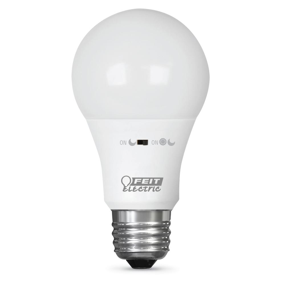 Feit Electric 40w Equivalent Soft White A19 Clear Filament: Feit Electric 40W Equivalent Soft White A19 IntelliBulb