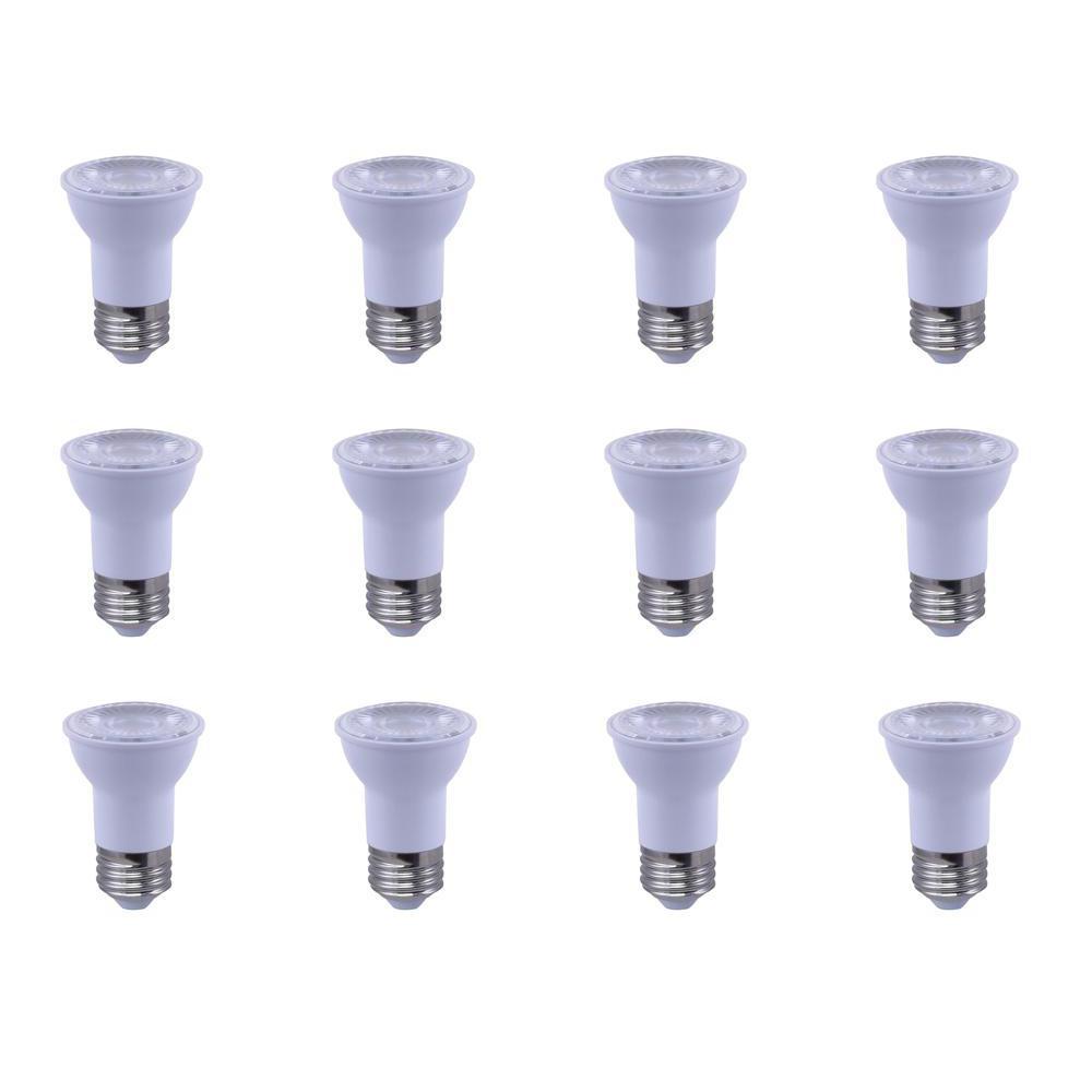 50-Watt Equivalent PAR16 Reflector Dimmable LED Light Bulb Soft White (12-Pack)