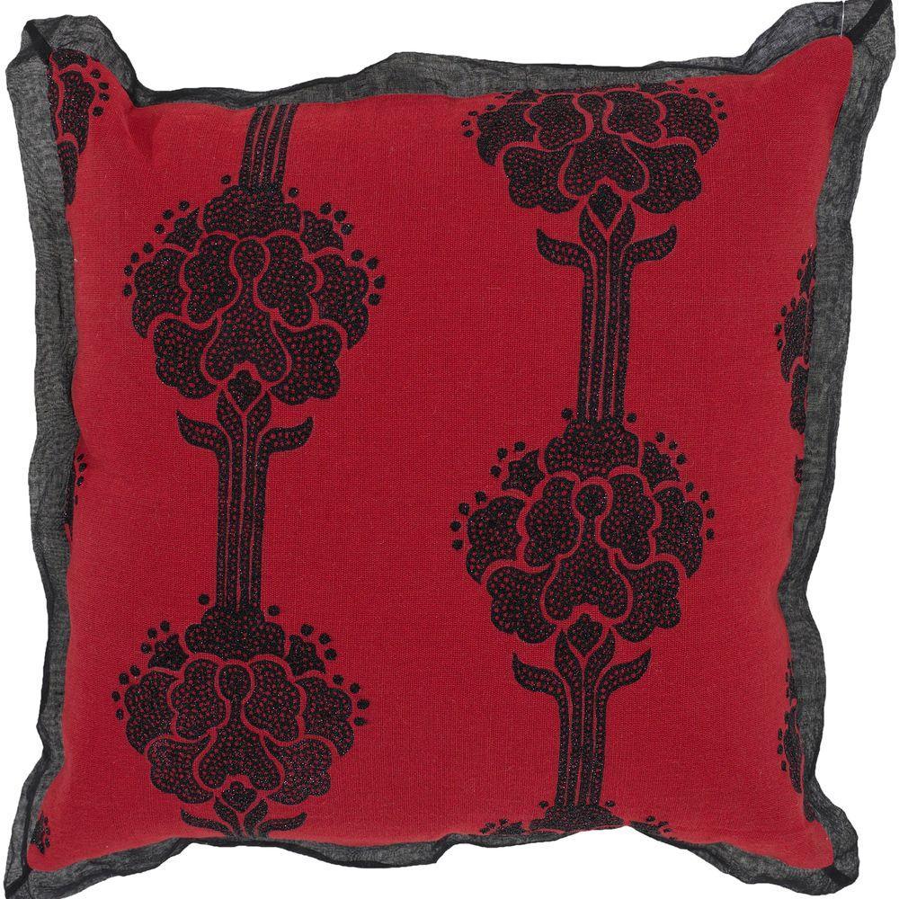 ElegantA 18 in. x 18 in. Decorative Down Pillow