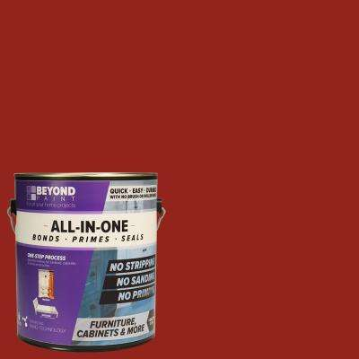 1 gal. Poppy Furniture, Cabinets and More Multi-Surface All-in-One Refinishing Paint