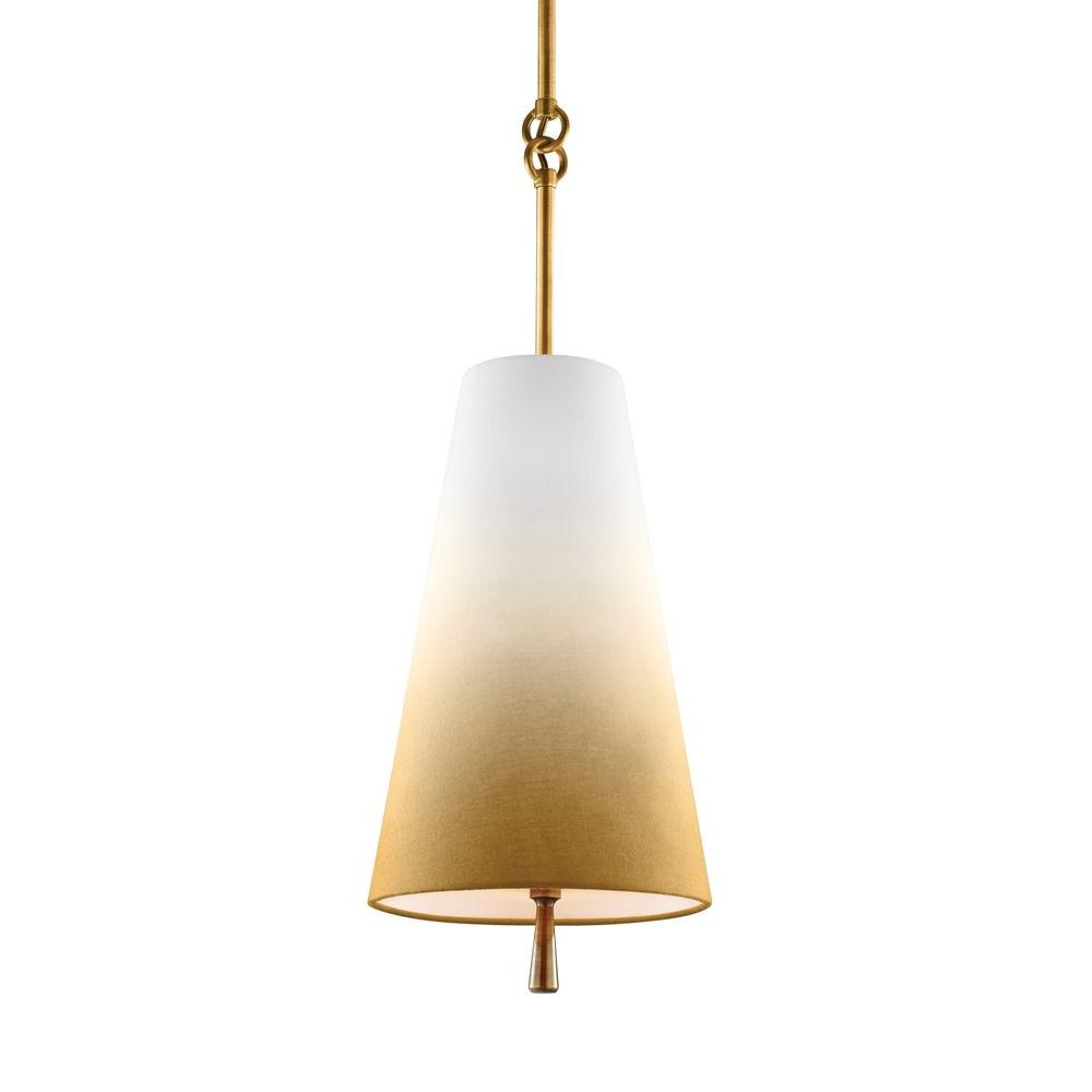 Tori 1-Light Bali Brass Mini Pendant