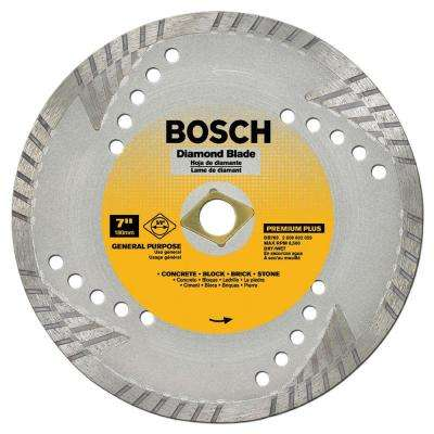 Bosch tile tools supplies floor installation tools the home premium plus turbo diamond angle grinder circular blade for slate fire brick greentooth Choice Image