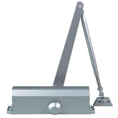 Commercial Door Closer in Aluminum with Backcheck - Size 4