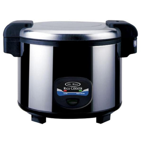 35-Cup Stainless Steel Rice Cooker