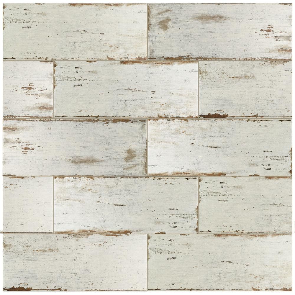 Merola Tile Retro Blanc 8 1 4 In X 23