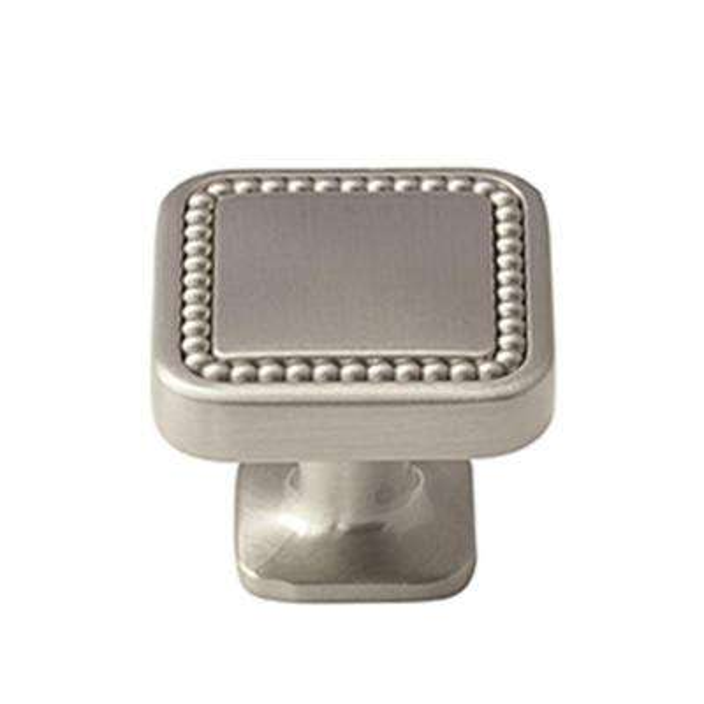 Carolyne 1-1/4 in. (32 mm) Satin Nickel Cabinet Knob