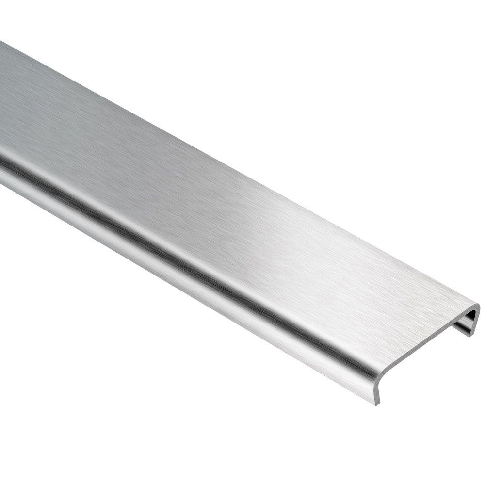 Schluter Designline Brushed Stainless Steel 1 4 In X 8 Ft 2
