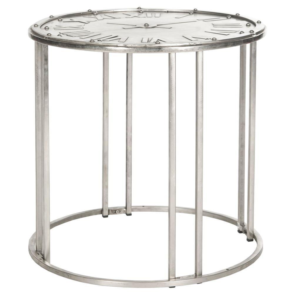 Safavieh Roman Antique Silver End Table