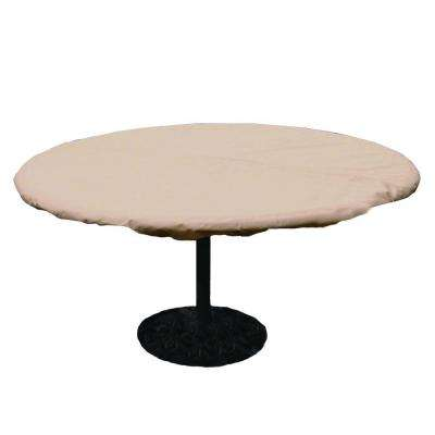 Polyester Standard Round Patio Table Cover With PVC Coating Part 48