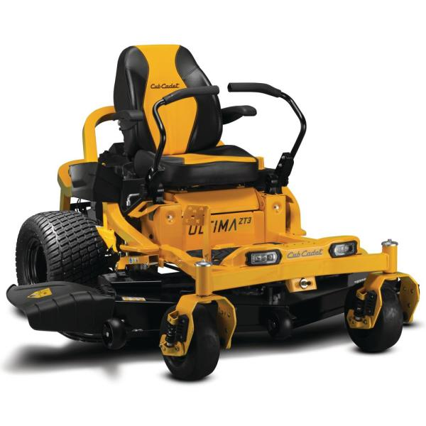 Ultima ZT3 60 in. Fabricated Deck 24 HP Kawasaki FS Series V-Twin Gas Engine Zero Turn Mower with Front Wheel Suspension