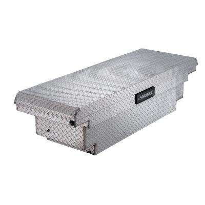61.86 Diamond Plate Aluminum Low Profile Crossbed Truck Tool Box