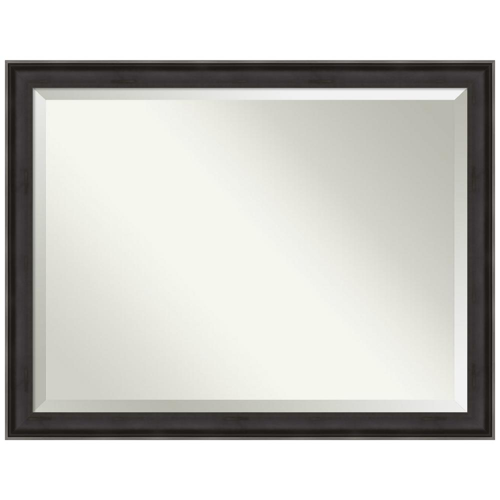 Amanti Art Allure Charcoal 44.38 in. x 34.38 in. Decorative Wall Mirror was $459.0 now $269.89 (41.0% off)