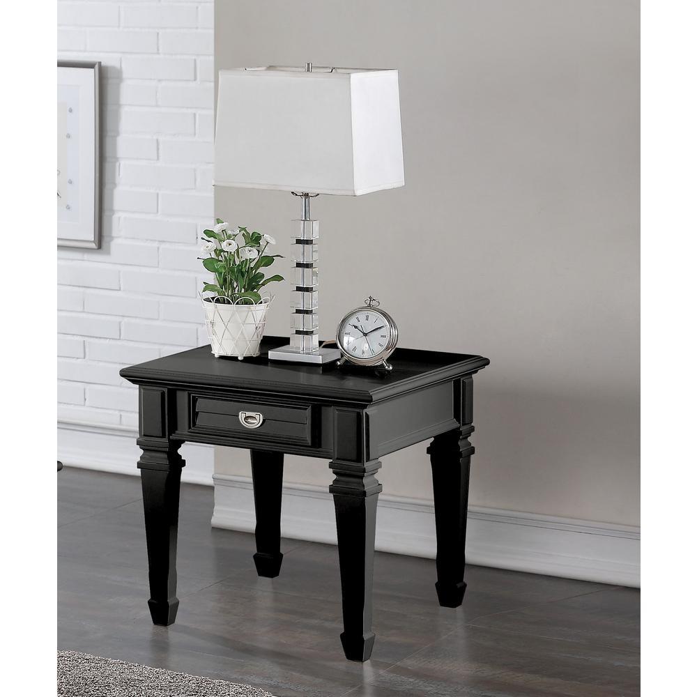 Adalyn Black End Table
