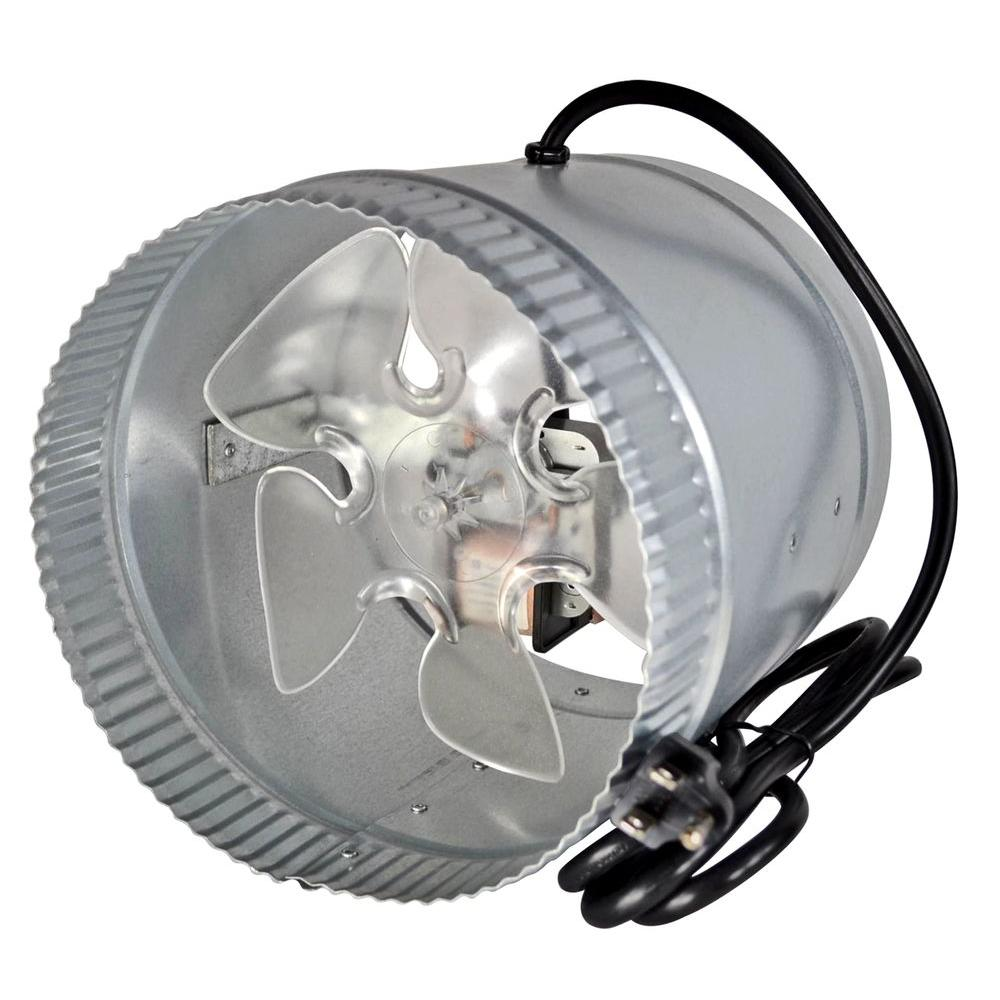 Heat Duct Booster Blower : Suncourt inductor in corded line duct fan db c