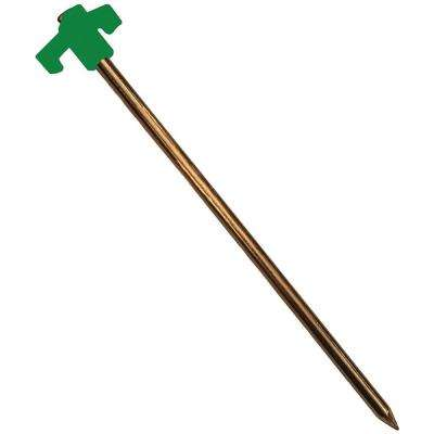 10 in. Green Stake (Pack of 4)